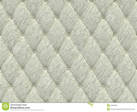 seamless white leather upholstery pattern 3d illustration