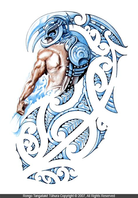 tangaroa god of the sea