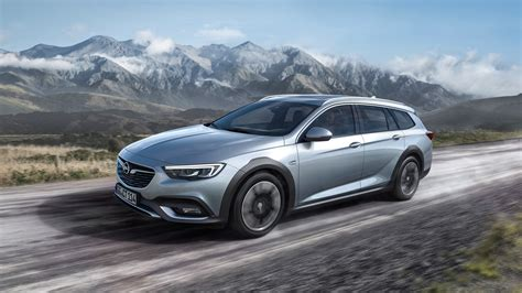 opel insignia 2018 opel insignia country tourer priced between golf and