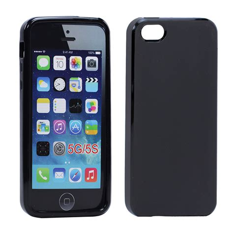 For Iphone 5 5s Soft Jelly Casing Trend Fashion wholesale iphone 5 5s matte tpu gel black