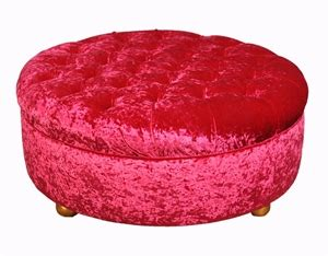 pink round ottoman round fabric ottoman hot pink with gold timber legs
