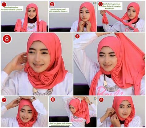 tutorial hijab sederhana untuk wajah bulat bisikandotcom on twitter quot tutorial hijab pashmina spandek