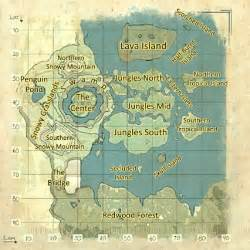 map of center the center official ark survival evolved wiki