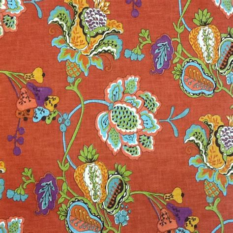 bright floral upholstery fabric bright multicolor floral fabric home decor fabric