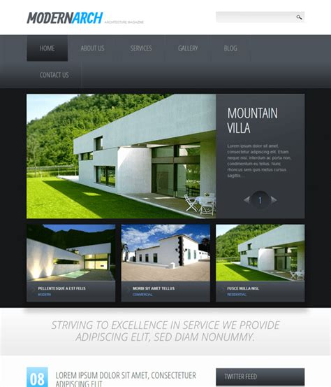 drupal theme integration 10 of the best drupal themes for architects down