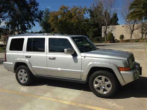2008 Jeep Commander Overland For Sale Sell Used 2008 Jeep Commander Overland Hemi Sport Utility