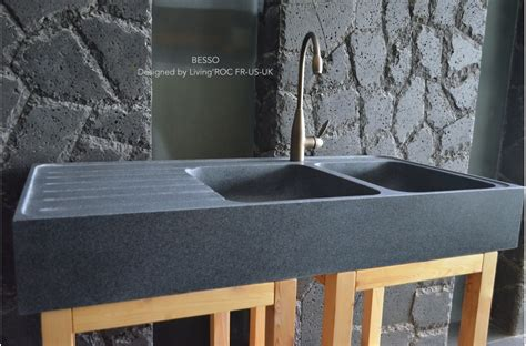 1200mm Double Bowl Kitchen Sink Granite Stone Besso Granite Kitchen Sinks Uk