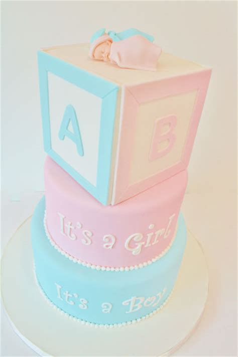 Baby Shower Cakes With Blocks by Baby Shower Cakes Nj Blocks Custom Cakes