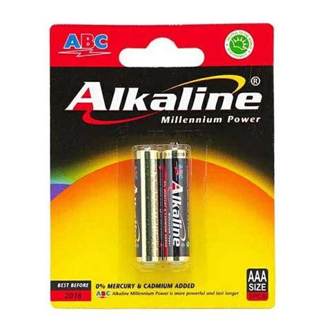 Baterai Aaa Abc Alkaline jual baterai abc alkaline 2pcs aaa harga dan spesifikasi