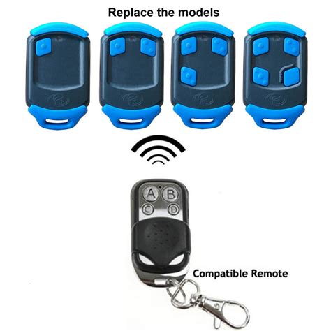 How To Program Your Garage Remote by Centsys Blue Button Compatible Remote Controls