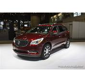 2017 Buick Enclave Red  The News Wheel