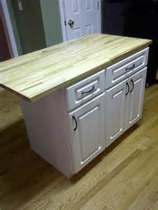 Diy kitchen island cheap kitchen cabinets and a countertop easy to