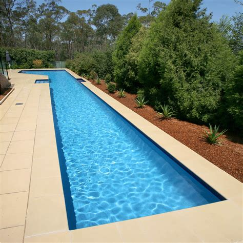 inground lap pool pacific pools swimming pools sydney swimming pool