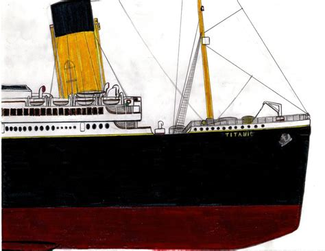 Titanic Section by Titanic Bow Section By Toaantan On Deviantart