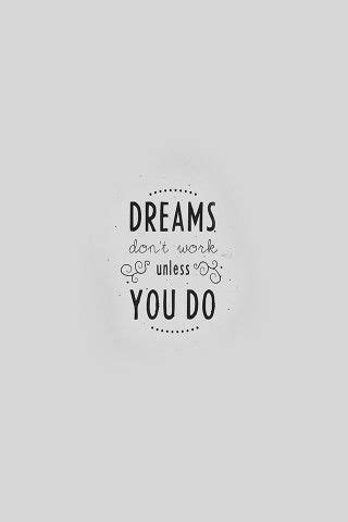 papersco  quote dreams dont work minimal white