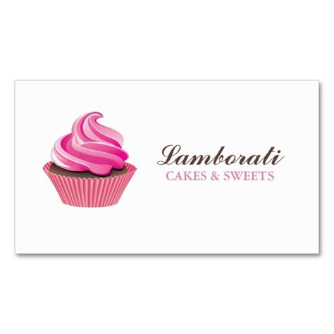 Cupcake Template Card by 1042 Best Cupcake Business Cards Images On