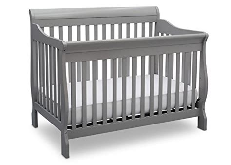 Delta Childrens Canton 4 In 1 Convertible Crib Delta Children Canton 4 In 1 Convertible Crib Grey Babiesme Babiesme