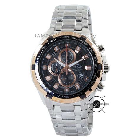 Jam Tangan Pria Casio Edifice Original Ef 539d 1a harga sarap jam tangan edifice ef 539d 1a5v silver gold