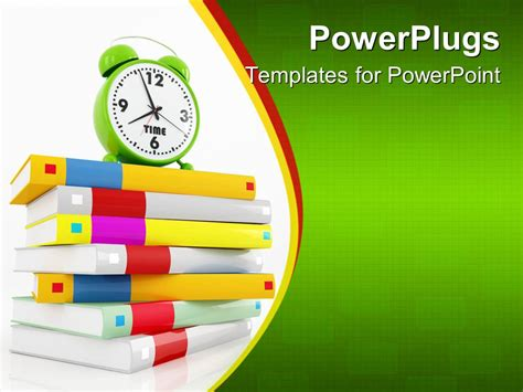 Powerpoint Template Education Theme With Various Colored Education Theme Powerpoint