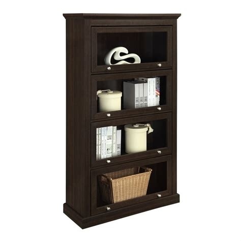 bookcase in espresso finish 9607096