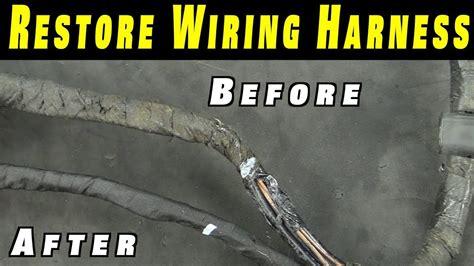 restore  wiring harness youtube
