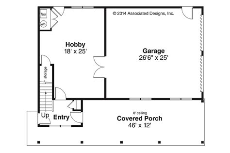 garage house floor plans craftsman house plans garage w apartment 20 119