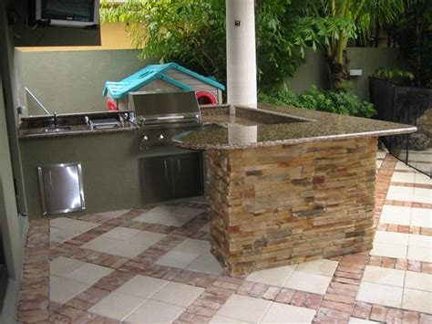 Backyard Grill Islands Backyard Kitchen Outdoor Furniture Design And Ideas