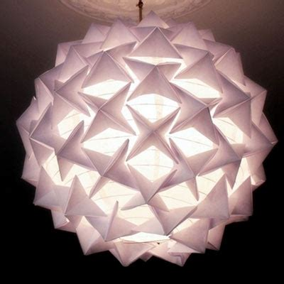 Paper Lantern Make - how to make a stunning designer look origami paper lantern