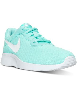 finish line sports shoes nike s tanjun se casual sneakers from finish line