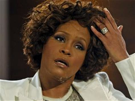 whitney houston admitted to hospital in paris, first tour