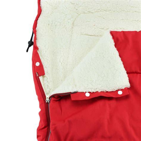 Fleece Sack by Stroller Fleece Baby Sleeping Bag Infant Pushchair Fleabag