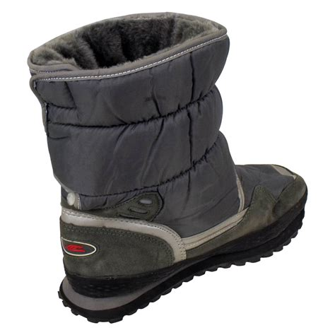 mens thermal boots new mens shearling snow quilted thermal winter warm boot
