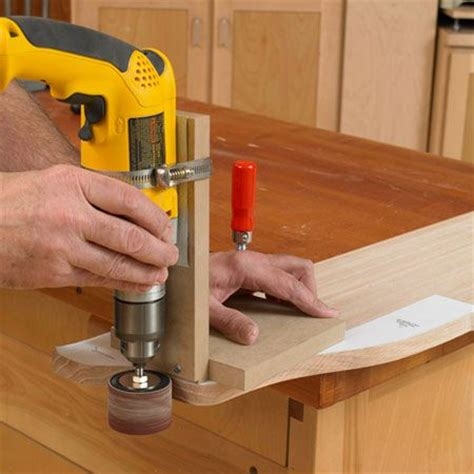 woodworking sanders its not an oscillating spindle sander but itll do
