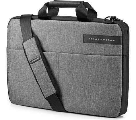 buy hp signature slim  laptop bag grey