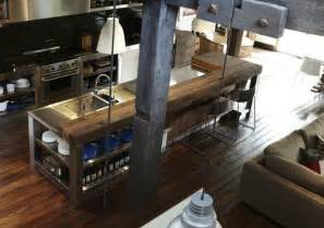 industrial style kitchen island sunnylit style rustic industrial in the making