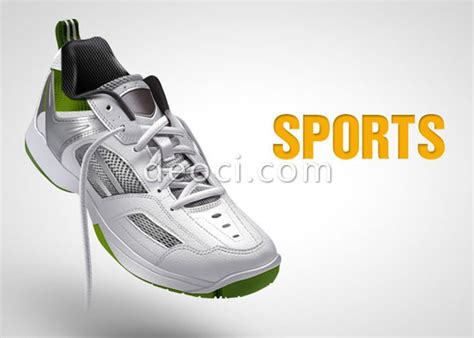 photoshop mouse to draw a sports shoe design templates psd