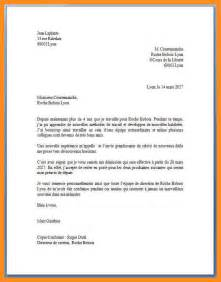 Exemple De Lettre Officielle 4eme 6 Lettre Officielle Exemple Mystock Clerk