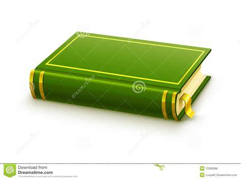 libro con tal de verte libro verde cerrado con la cubierta en blanco stock de ilustraci 243 n ilustraci 243 n de trazado
