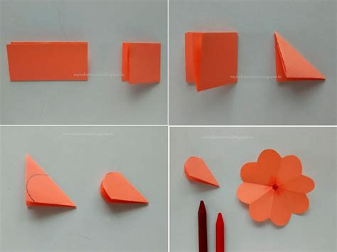how to make pop up flowers card in paper my indian version diy easy pop up card photo tutorial