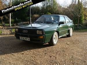 Audi Sport Quattro For Sale Re Spotted Audi Sport Quattro Page 1 General Gassing