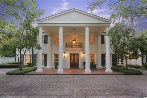 what is a colonial style house river oaks home in houston texas is a fine exle of