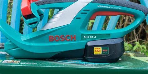 Bosch Heckenschere Test by Review Bosch Ahs 52 Li Akku Heckenschere Techtest