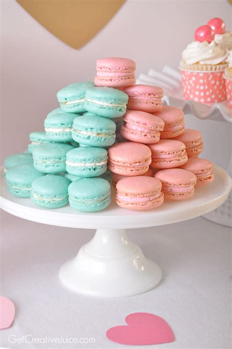 Baby Macaroon Is 6 Pink Gold Macaron Creative Juice