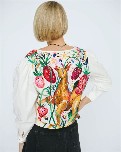 embroidery clothes colorful custom embroidered clothing by smirnova