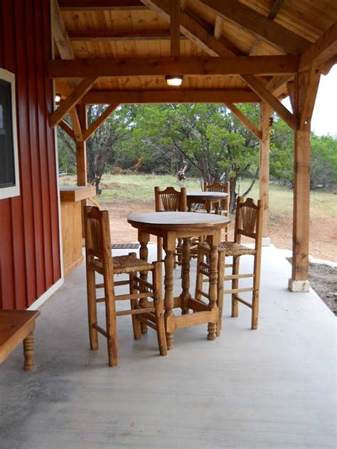 country barn home kit  open porch  pictures metal