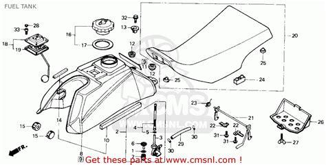 1985 honda fourtrax 250 parts 1985 honda trx 350 wiring diagram honda xl 350 wiring