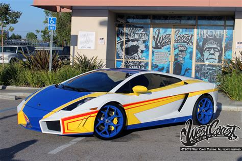 Chris Brown Lamborghini Gallardo The World West Coast Customs 174