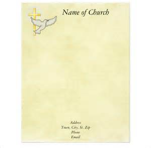 11 church letterhead templates free sample example