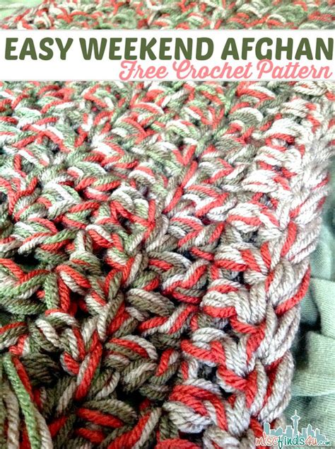 Colors Patterns To Jump Start The Weekend by Free Crochet Pattern Weekend Afghan Crochet Afghans
