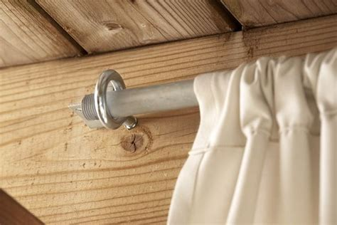 gazebo curtain rods best 25 privacy deck ideas on pinterest privacy wall on